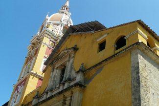 A Basílica de Santa Calatalina de Alajandría é a catedral de Cartagena