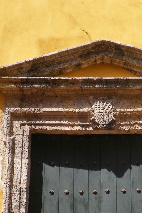 Detalhe de uma das portas de Cartagena