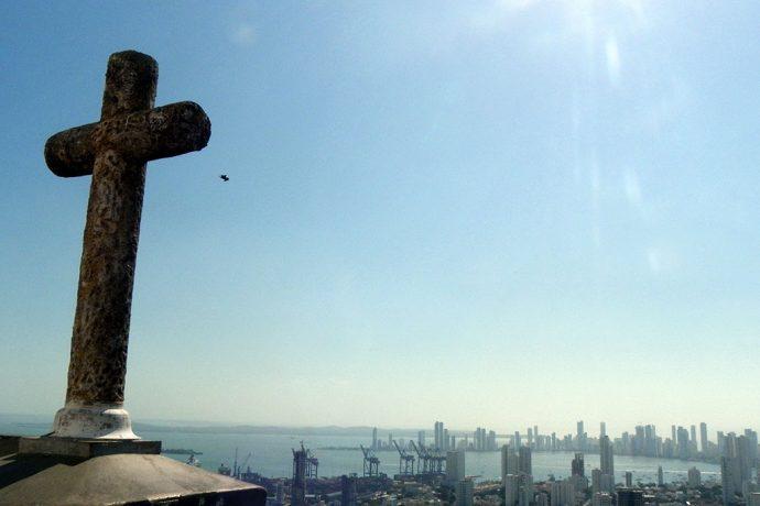 Vista da cidade do Convento de la Popa