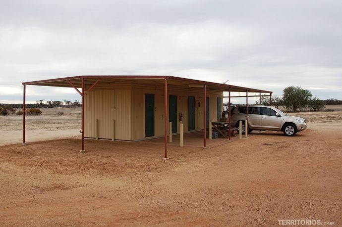 Onde dormir na Austrália: caravan park