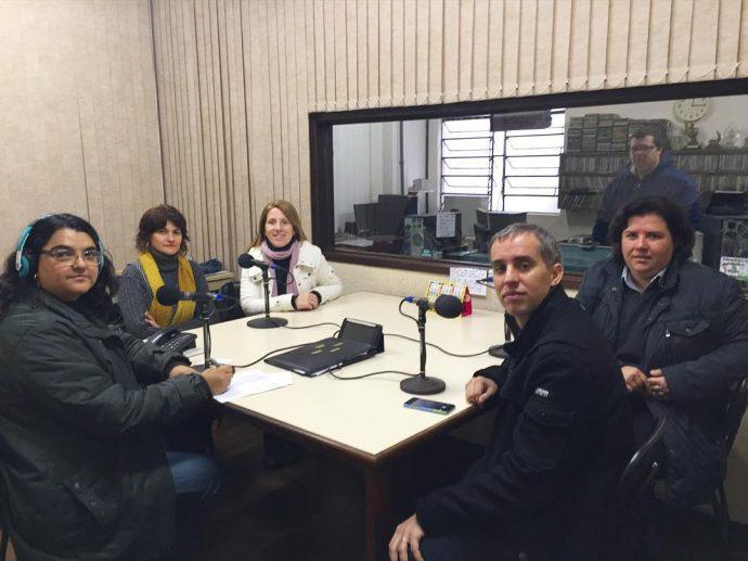 Entrevista na Rádio Difusora de Bagé