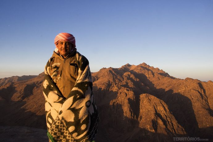 Gamal, o guia beduíno