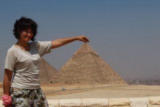 Em uma das 7 Maravilhas do Mundo, no Egito