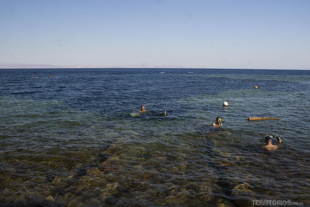 Mergulhar no Mar Vermelho está entre as melhores experiências