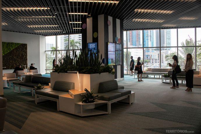 Sala VIP em Miami