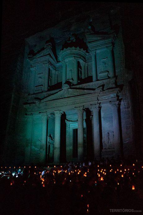 Espetáculo Petra by Night