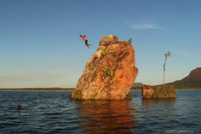 Salto da Pedra Encantada