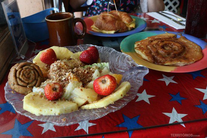 Café da manhã no Bob's Bunz