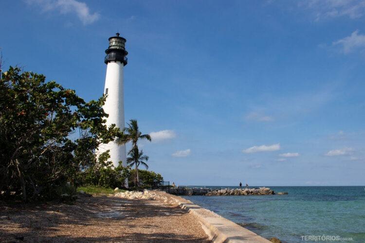 faróis Florida: Key Biscayne