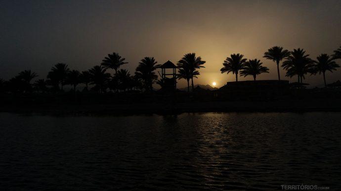 Astral de Sharm El Sheik no fim de tarde
