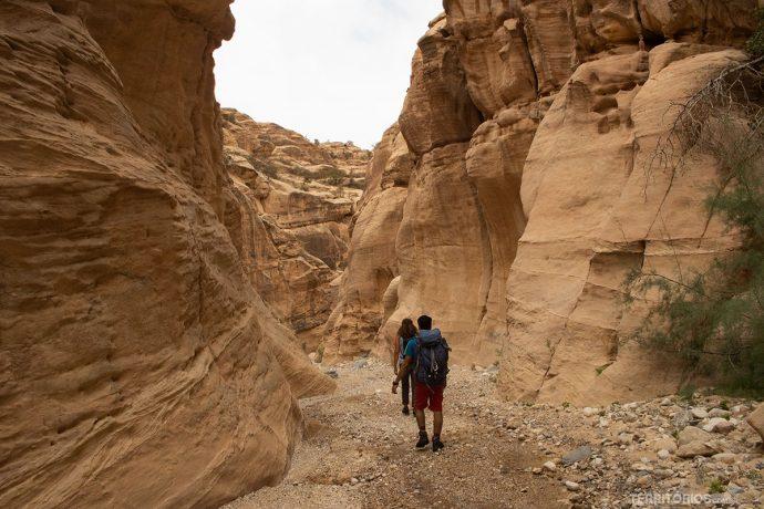 Cânion Wadi El Ghuweir