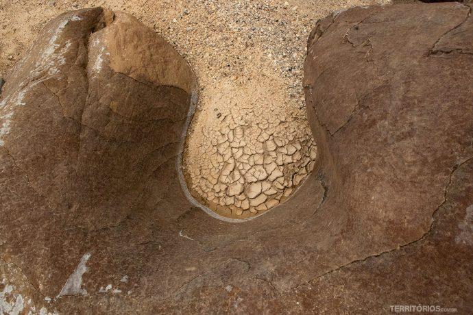 Textura em Wadi El Ghuweir