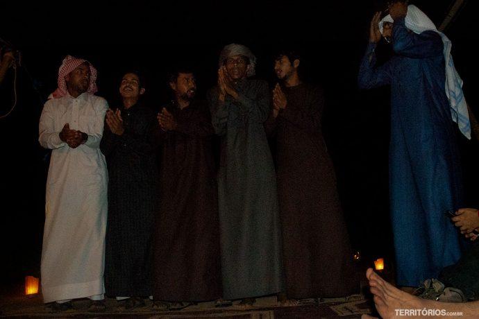 Beduínos em Wadi Rum