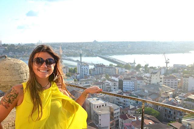Equipe de viajantes: Mayra Jinkings