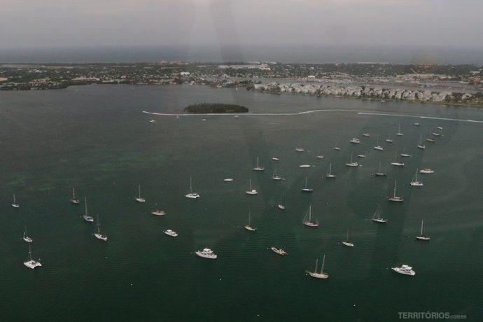 Veleiros em Key West