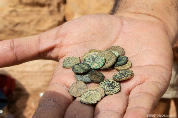 Produtos vendidos pelos beduínos