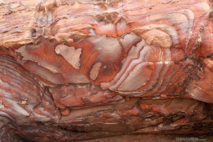 Textura em Petra