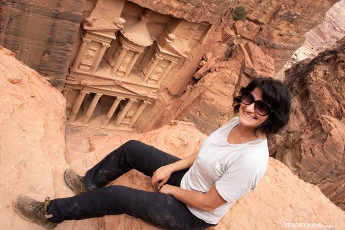 Foto clássica em Petra
