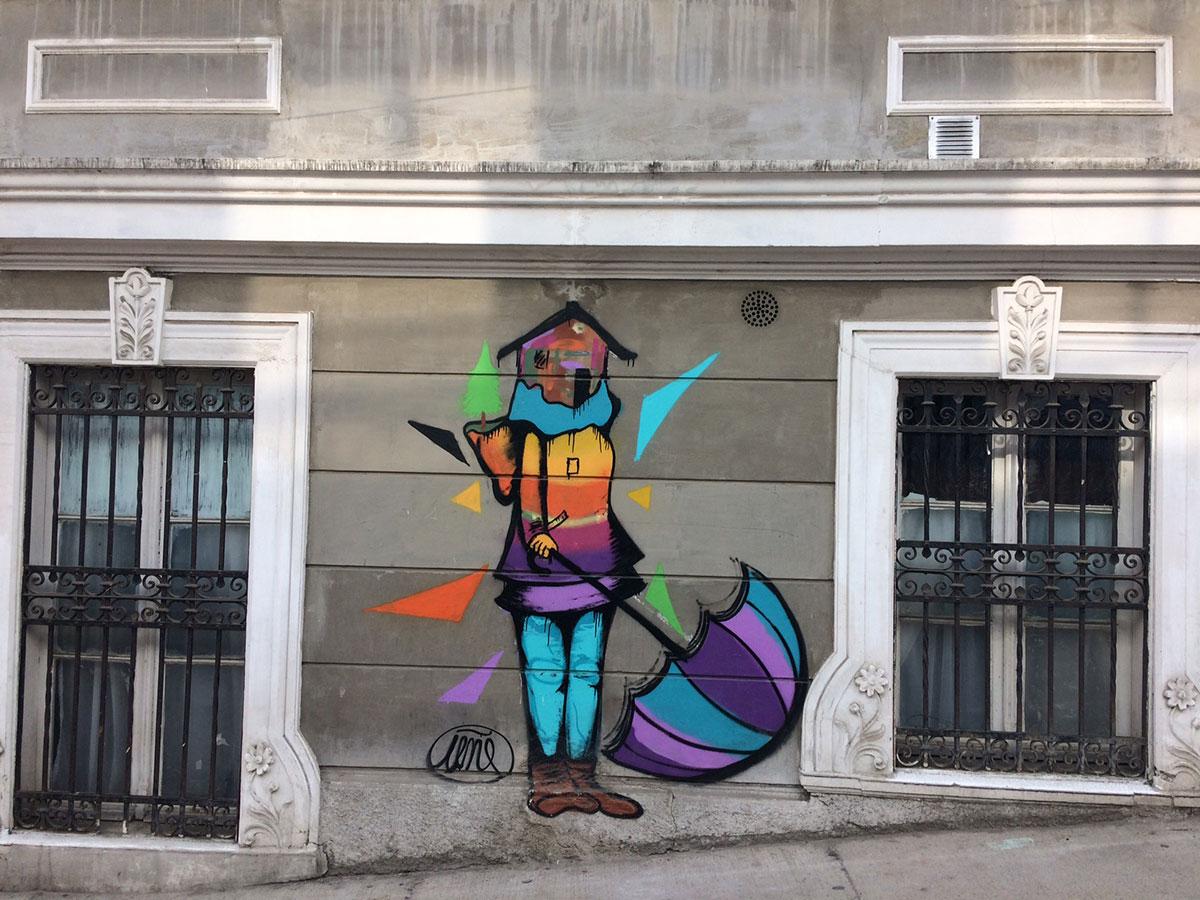 Valparaíso: o paraíso do graffiti no Chile