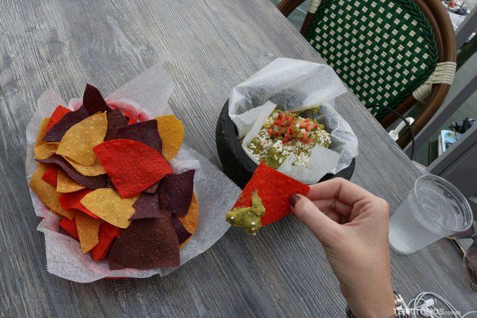 Tacos e guacamole