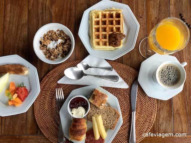 Café da manhã (crédito: Alexandra do blog Café Viagem)