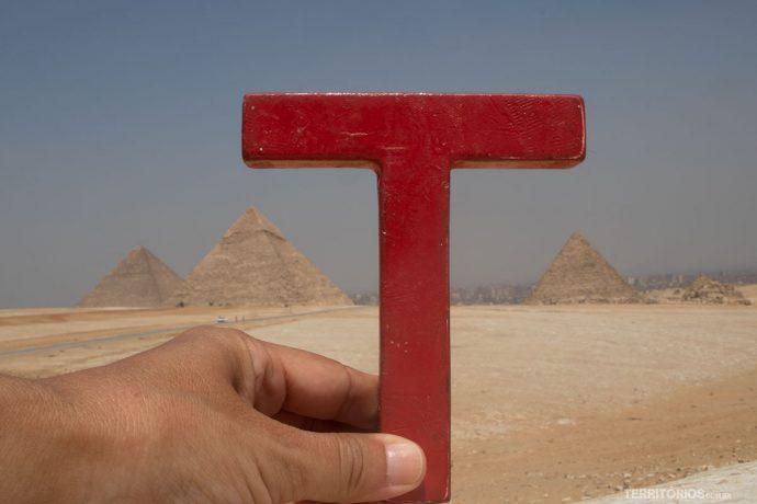 Nas Pirâmides do Egito