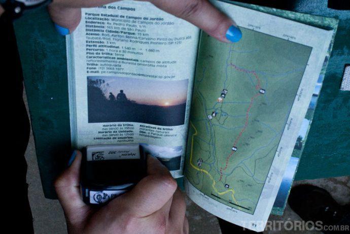 Passaporte de trilhas de São Paulo