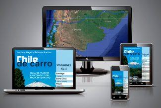 Vale do Colchagua está no guia Chile de Carro para ler em múltiplas plataformas como TV, computador, tablet e celular