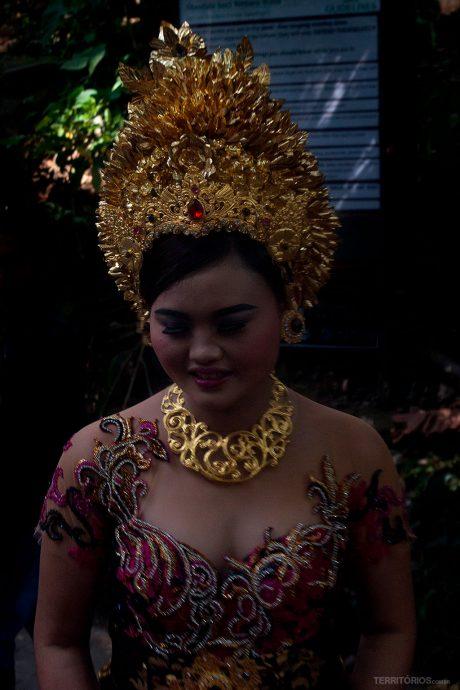 Noiva em Bali, Indonésia