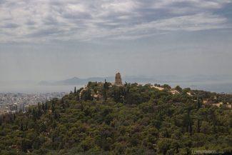 Vista para Monumento de Filopapo