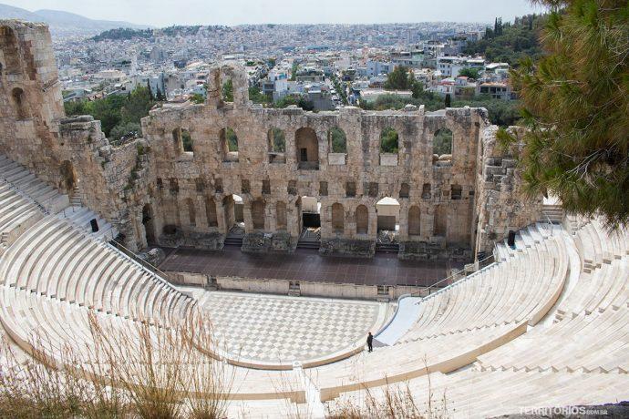 Odeão de Herodes Ático (século II d.C), teatro