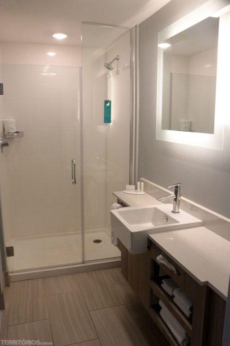 Banheiro do Marriott