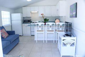 Cozinha completa na cabana