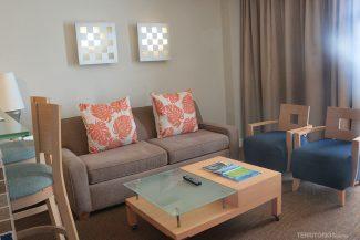 Sala de estar no Marenas