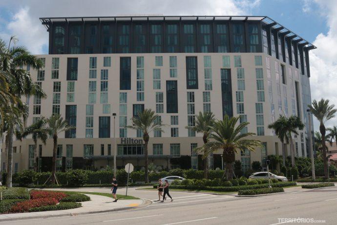 Hotel Hilton é opção de onde ficar na Flórida