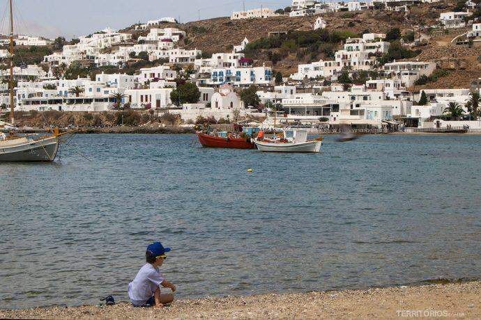 Baía de Mykonos