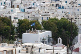 Telhados de Mykonos