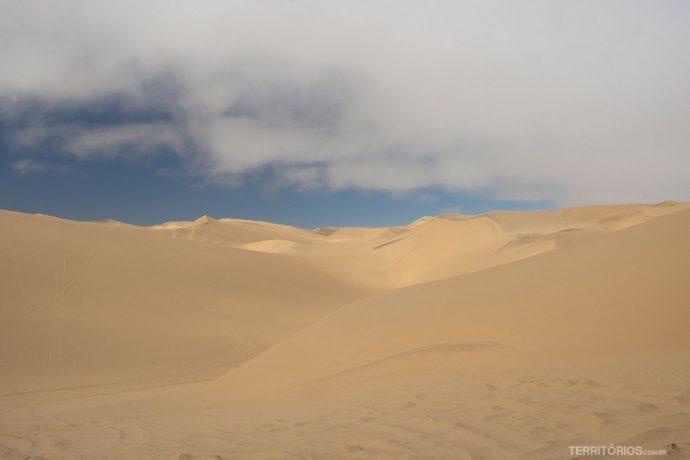 Dunas de 5 milhões de anos no deserto da Namíbia