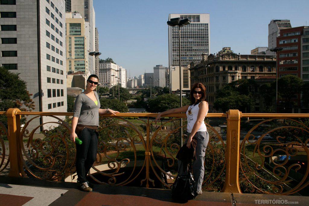 Viaduto do Chá é um dos pontos no centro de São Paulo