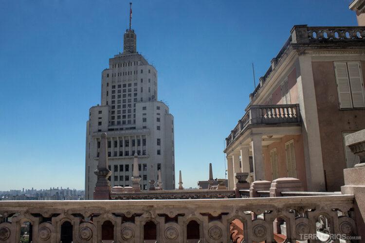 Vista para o Edifício Altino Arantes do Edifício Martinelli