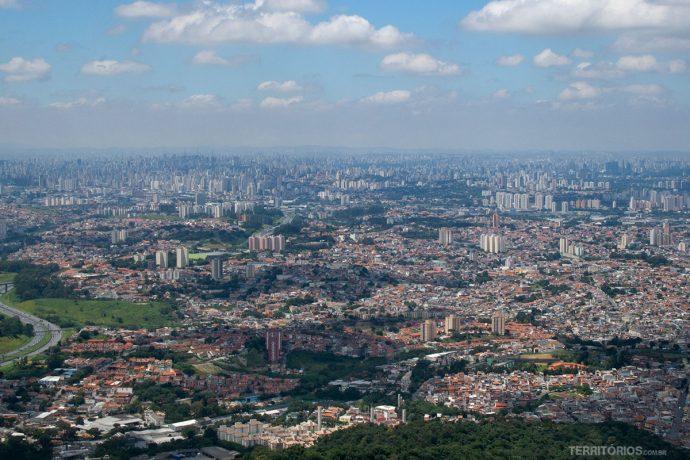 Mar de prédios em São Paulo