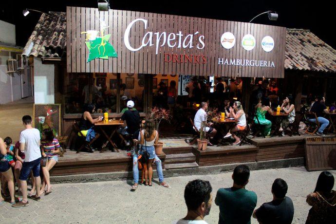 Capeta's é para beber e comer bem na Guarda do Embaú