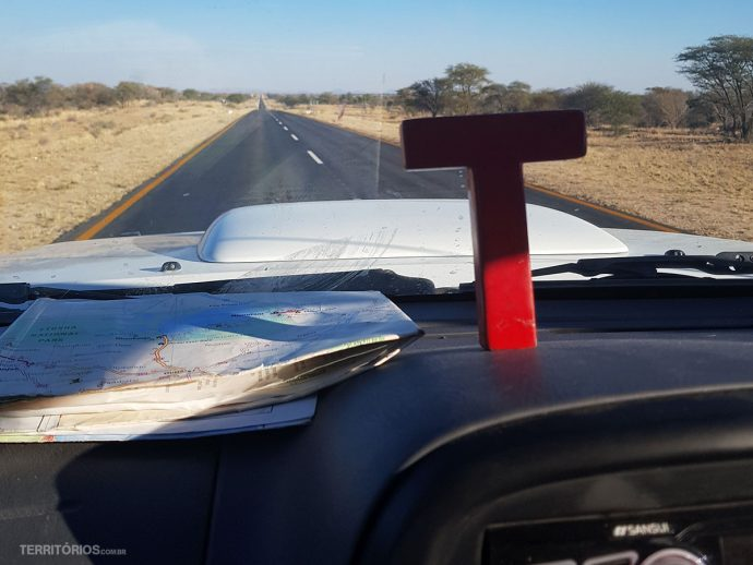 Estrada na Namíbia