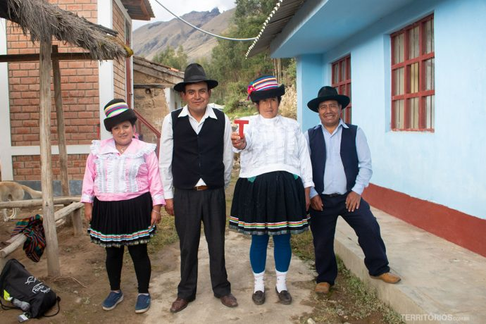 Na comunidade ao redor do Parque Nacional Huascarán