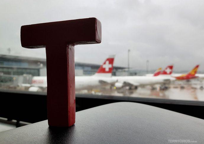 Tesão no aeroporto de Zurique