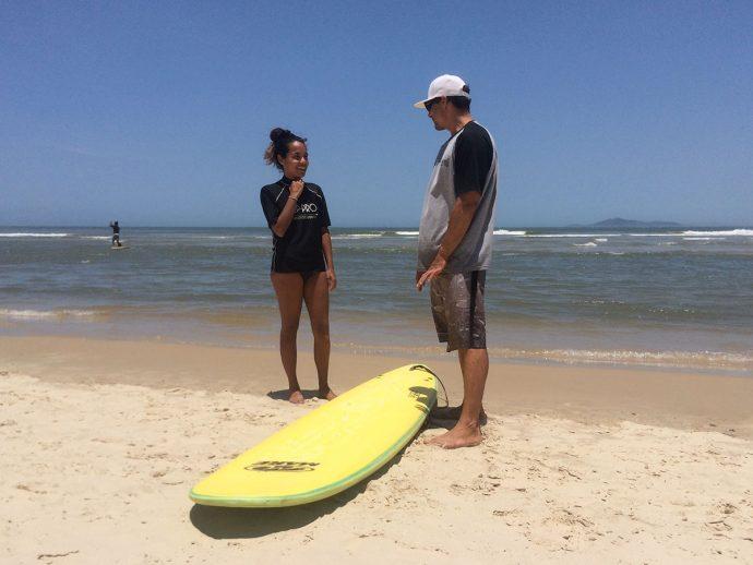 Surfe na Guarda do Embaú