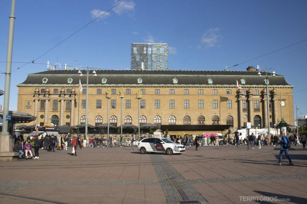 Clarion Post Hotel no centro de Gotemburgo