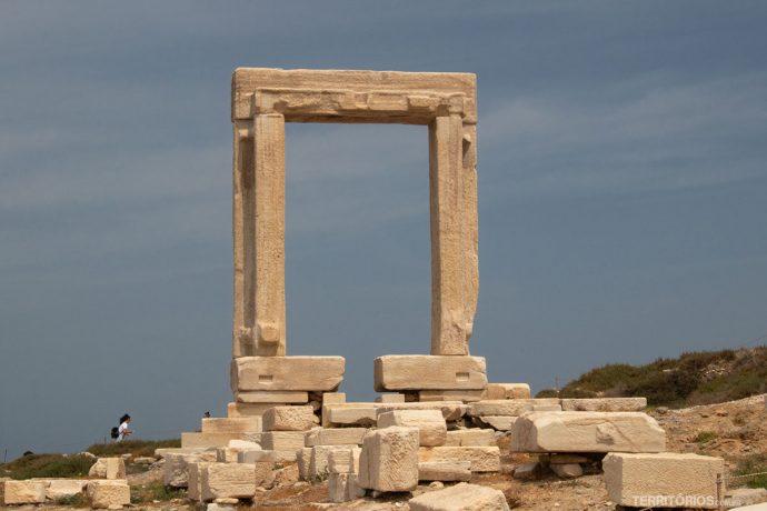 Portara, ruínas do Templo de Apollo