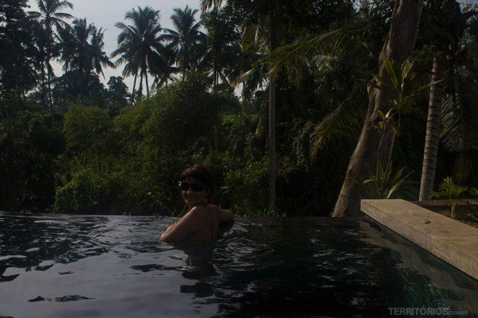 Roberta Martins em Bali