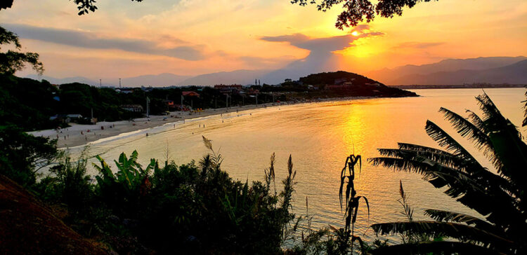 Pôr do sol em Santa Catarina